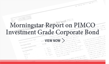 Morningstar Report on PIMCO Short Term