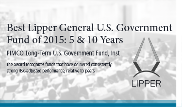 Best Lipper General US Government Fund of 2015