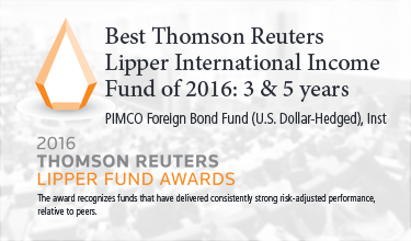 best thomson reuters lipper international income fund