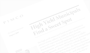 high yield municipals find a sweet spot