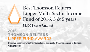 best thomson reuters lipper multi sector income fund