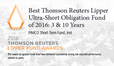 Best thomson reuters lipper ultra short obligation fund