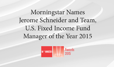 morningstar namees jerome schneider and team us fixed income fund