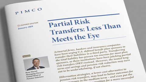 Partial Risk Transfers: Less Than Meets the Eye