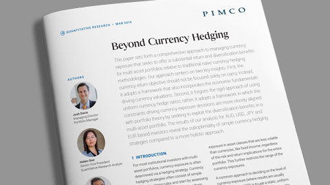 Beyond Currency Hedging