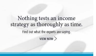 Nothing tests an income strategy as thoroughly as time