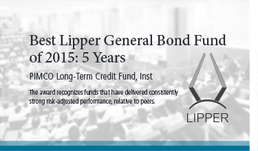 Best Lipper General Bond Fund of 2015